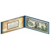 "NEBRASKA State $1 Bill - Genuine Legal Tender - U.S. One-Dollar Currency "" Green """