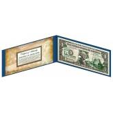 "NEVADA State $1 Bill - Genuine Legal Tender - U.S. One-Dollar Currency "" Green """