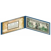 "NEW YORK State $1 Bill - Genuine Legal Tender - U.S. One-Dollar Currency "" Green """