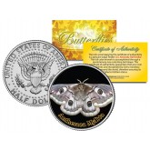 ANTHERAEA MYLITTA BUTTERFLY JFK Kennedy Half Dollar U.S. Colorized Coin