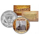 BEN THOMPSON - Wild West Series - JFK Kennedy Half Dollar U.S. Colorized Coin