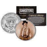 BILLY THE KID - Old West Outlaw - Gangsters JFK Kennedy Half Dollar US Colorized Coin