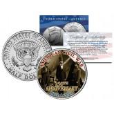 "AMERICAN CIVIL WAR - 150th Anniversary "" Lincoln at Sharpsburg "" JFK Half Dollar US Coin"