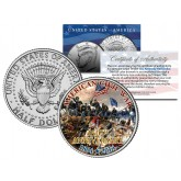 "AMERICAN CIVIL WAR - 150th Anniversary "" Battle of Spotsylvania "" JFK Half Dollar US Coin"