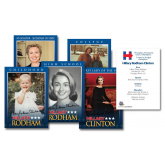 Hillary Clinton OFFICIAL * 2016 Presidential * Life & Times 5-Card Premium Trading Card Set  (Lot of 3 Sets)