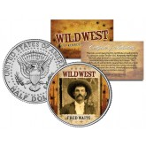 FRED WAITE - Wild West Series - JFK Kennedy Half Dollar U.S. Colorized Coin