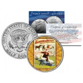 RINGLING BROS. AND BARNUM & BAILEY CIRCUS - Geese - Colorized JFK Half Dollar U.S. Coin