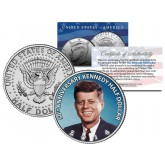 50th Anniversary Kennedy Half Dollar 2014 U.S. Coin JFK Colorized