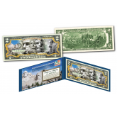 MOUNT RUSHMORE NATIONAL MEMORIAL Official $2 Bill - Genuine Legal Tender - Featuring George Washington, Thomas Jefferson, Theodore Roosevelt, and Abraham Lincoln