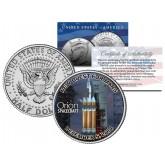 ORION Spacecraft NASA First Test Flight 2014 JFK Half Dollar U.S. Coin - NEW QUEST FOR MARS