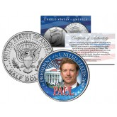 RAND PAUL FOR PRESIDENT 2016 Campaign Colorized JFK Kennedy Half Dollar U.S. Coin