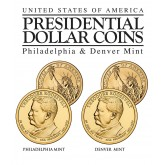 THEODORE ROOSEVELT 2013 Presidential $1 Dollar 2-Coin US Mint Set - BOTH P&D MINT