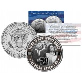 SELMA TO MONTGOMERY MARCH - 50 Years - Colorized 2015 JFK Half Dollar U.S. Coin - Martin Luther King Jr