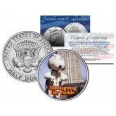 SNOOPY BALLOON 1966 Macy's THANKSGIVING DAY PARADE - Colorized 2014 JFK Kennedy Half Dollar U.S. Coin