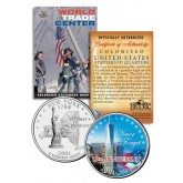 WORLD TRADE CENTER - 13th Anniversary - FREEDOM TOWER 9/11 NY State Quarter Coin WTC