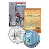 WORLD TRADE CENTER - 2nd Anniversary - 9/11 New York State Quarter U.S. Coin WTC