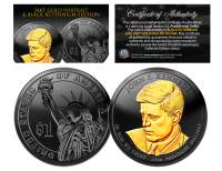 Ruthenium JFK Presidential $1