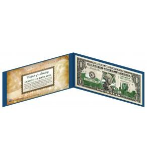 "COLORADO State $1 Bill - Genuine Legal Tender - U.S. One-Dollar Currency "" Green """