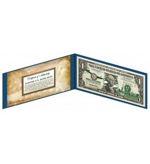 "FLORIDA State $1 Bill - Genuine Legal Tender - U.S. One-Dollar Currency "" Green """