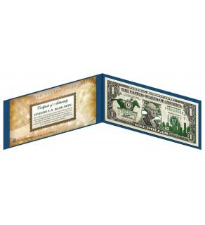 "KENTUCKY State $1 Bill - Genuine Legal Tender - U.S. One-Dollar Currency "" Green """