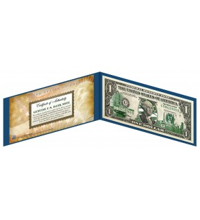 "MARYLAND State $1 Bill - Genuine Legal Tender - U.S. One-Dollar Currency "" Green """