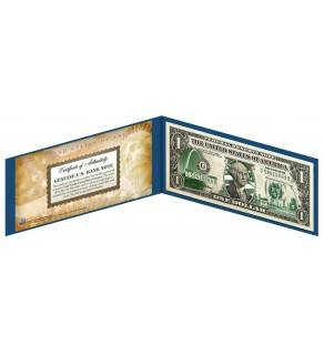 "MISSOURI State $1 Bill - Genuine Legal Tender - U.S. One-Dollar Currency "" Green """