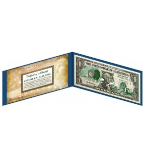 "OKLAHOMA State $1 Bill - Genuine Legal Tender - U.S. One-Dollar Currency "" Green """