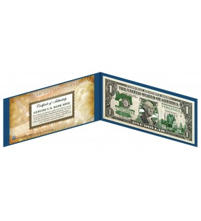 "PENNSYLVANIA State $1 Bill - Genuine Legal Tender - U.S. One-Dollar Currency "" Green """