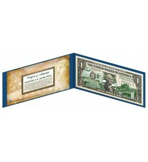 "SOUTH DAKOTA State $1 Bill - Genuine Legal Tender - U.S. One-Dollar Currency "" Green """