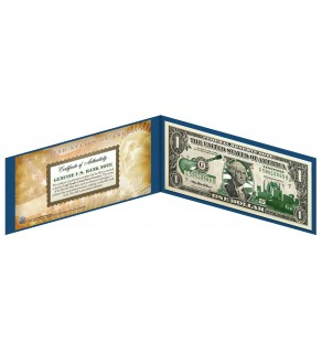 "TENNESSEE State $1 Bill - Genuine Legal Tender - U.S. One-Dollar Currency "" Green """