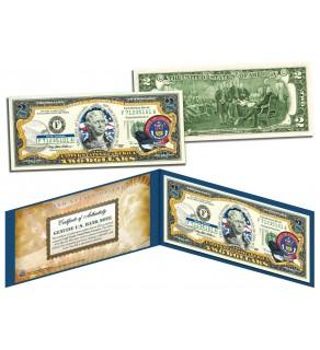 COLORADO $2 Statehood CO State Two-Dollar U.S. Bill - Genuine Legal Tender