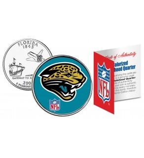 JACKSONVILLE JAGUARS NFL Florida US Statehood Quarter Colorized Coin  - Officially Licensed
