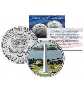 WASHINGTON MONUMENT - Washington D.C. - JFK Kennedy Half Dollar U.S. Coin