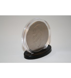 100 SINGLE COIN DISPLAY STANDS for Silver Eagle or Morgan or Peace or IKE Dollars