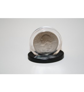 SINGLE COIN DISPLAY STANDS for Half Dollar or Quarter EXCLUSIVE DESIGN (Quantity 250)