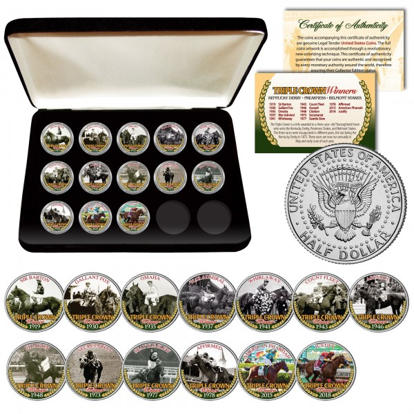 horse racing coins