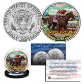 JUSTIFY 2018 TRIPLE CROWN WINNER Thoroughbred Racehorse JFK Half Dollar U.S. Coin (Complete Your Set)