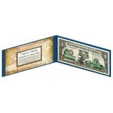 "NEW MEXICO State $1 Bill - Genuine Legal Tender - U.S. One-Dollar Currency "" Green """