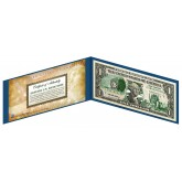"OKLAHOMA State $1 Bill - Genuine Legal Tender - U.S. One-Dollar Currency "" Green """