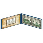 "RHODE ISLAND State $1 Bill - Genuine Legal Tender - U.S. One-Dollar Currency "" Green """