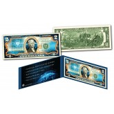 Block Chain Crypto Currency Bitcoin Physical Commemorative Genuine Legal Tender U.S. $2 Bill