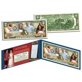 ROYAL BABY - Prince George of Cambridge - Genuine Legal Tender U.S. $2 Bill