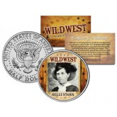 BELLE STARR - Wild West Series - JFK Kennedy Half Dollar U.S. Colorized Coin