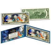 ANCIENT CHINESE MYTHICAL CREATURES Colorized $2 Bill U.S. Legal Tender Currency - Lucky Money