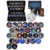 SPACE SHUTTLE COLUMBIA MISSIONS NASA Florida Statehood Quarters 28-Coin Set with BOX