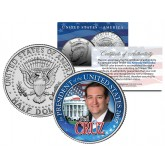 TED CRUZ FOR PRESIDENT 2016 Campaign Colorized JFK Kennedy Half Dollar U.S. Coin