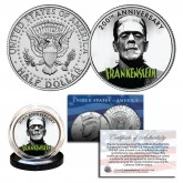 FRANKENSTEIN 200TH Anniversary Official JFK Kennedy Half Dollar U.S. Coin