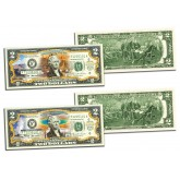 GRAND CANYON & YELLOWSTONE NATIONAL PARKS Official $2 Bills Honoring America's National Parks