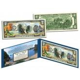 VIETNAM - HA LONG BAY - Colorized $2 Bill - Genuine Legal Tender U.S. Two Dollar