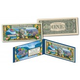 HAWAII State $1 Bill Colorized OFFICIAL Genuine Legal Tender U.S. One-Dollar Currency
